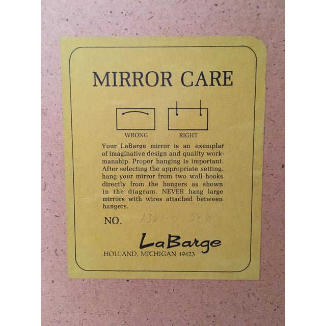 Image of La Barge Antique Palladian Gold Mirror