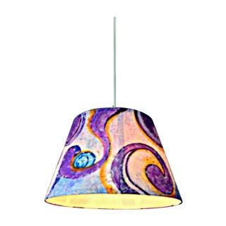 1960s Pop Art-Style Pendant Lamp