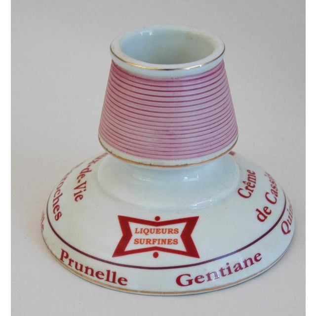 Early 1900s French Porcelain Match Striker & Holder - Image 3 of 10