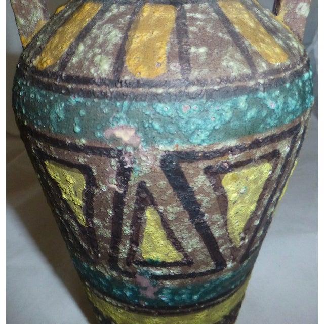 Mid Century Gambone Style Italian Vase - Image 9 of 9