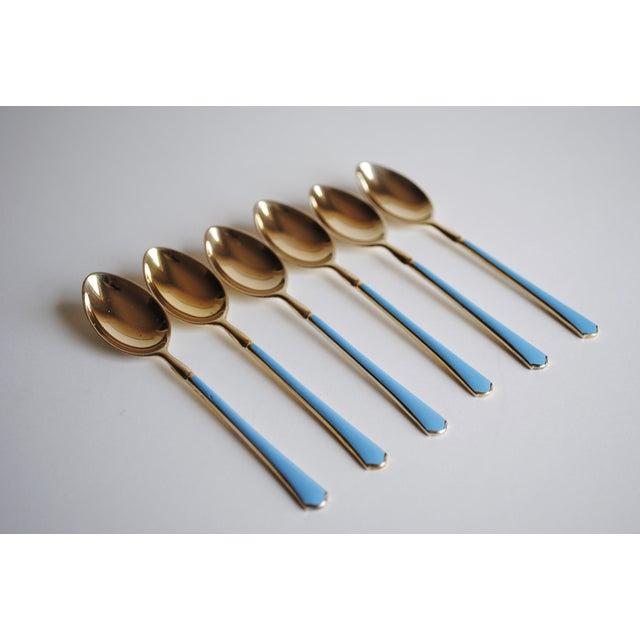 Sterling Demitasse Spoons - Set of 6 - Image 2 of 9