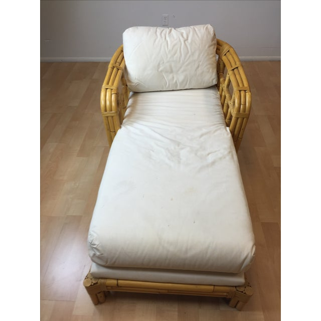 Image of Ralph Lauren Bent Bamboo Chaise