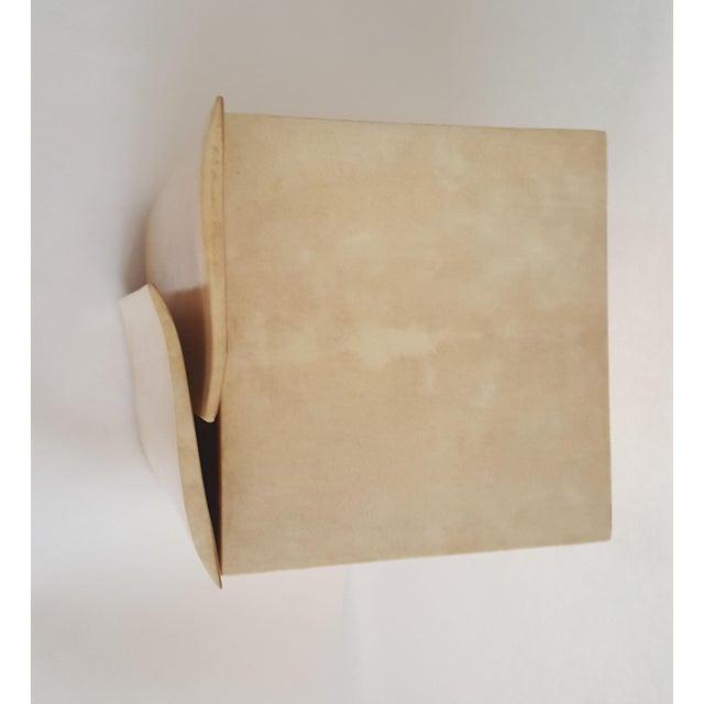 R & Y Augousti Wood & Shagreen Jewelry Box - Image 6 of 9