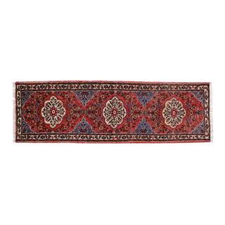 Persian Rudbar Floral Runner - 3' x 9'5