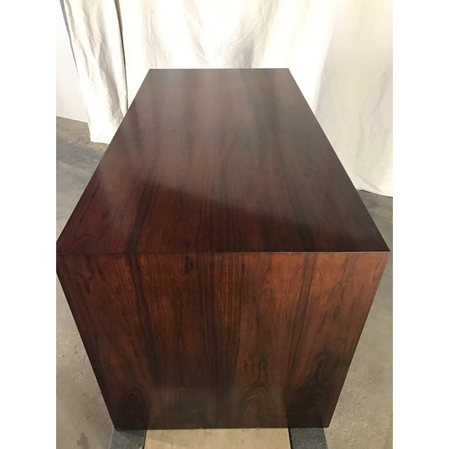 Ed Wormley Rosewood English Oak Desk - Image 6 of 11