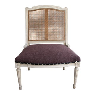 French Provincial Repurposed Slipper Chair