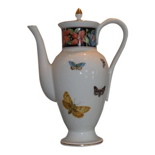 Mottahedeh Vista Allegre Porcelain Coffee Pot