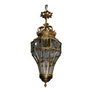 Antique chandelier, Versailles style lantern