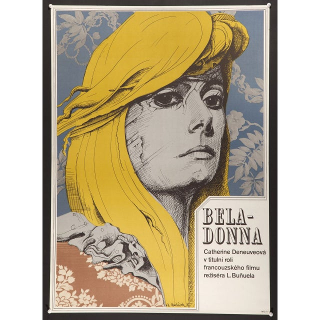 "Catherine Denueve ""Belle De Jour"" Czech Poster - Image 2 of 2"