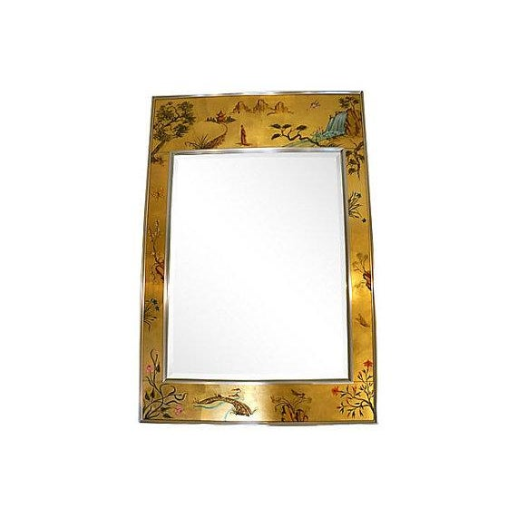La Barge Chinoiserie Wall Mirror - Image 1 of 5