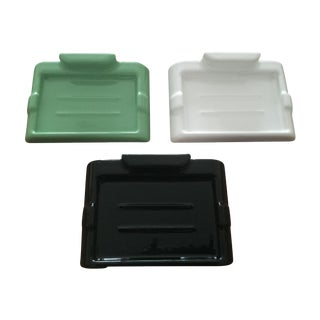 Modern Porcelain Wall Mounted Soap Dishes - S/3