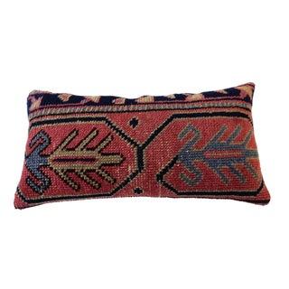 Antique Caucasian Fragment Lumbar Pillow