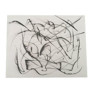 "Erik Sulander ""Abstract #20"" Original ""Scape"" Drawing"