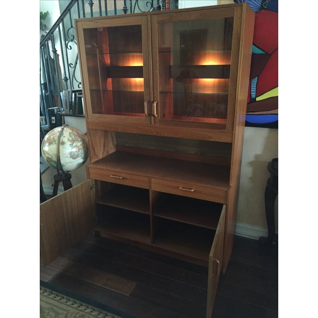 Image of Vintage Clausen and Sons China Cabinet
