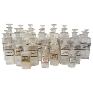 Vintage Pharmaceutical Jars Collection
