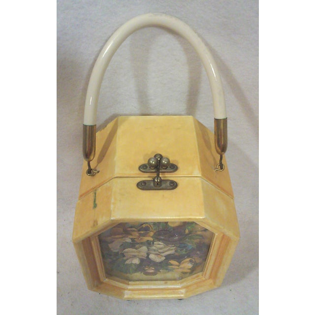 Image of Bakelite Flora Box Purse