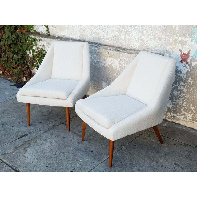 """Berkley"" Cream Lounge Chair - Image 2 of 4"