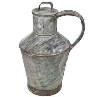 French Zinc Milk Jug