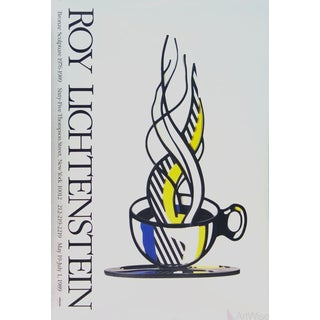 Roy Lichtenstein, Cup and Saucer, 1989 Poster