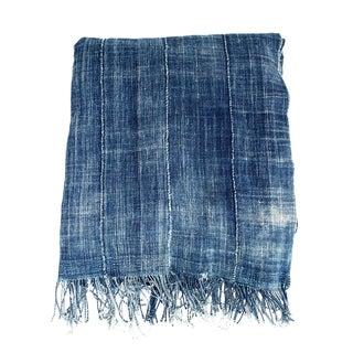 Vintage Mossi Indigo Textile Throw