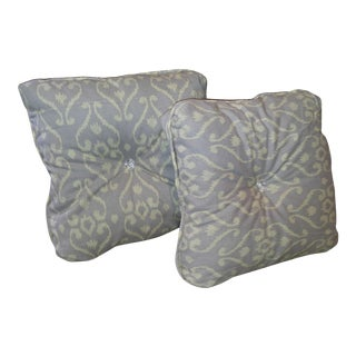 Lavender Ikat Pillows - A Pair