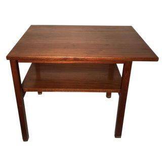 Edward Wormley for Dunbar 2 Tier Lamp Table