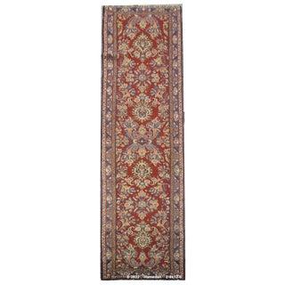 Vintage Persian Hamedan Rug - 2'9'' X 12'6''