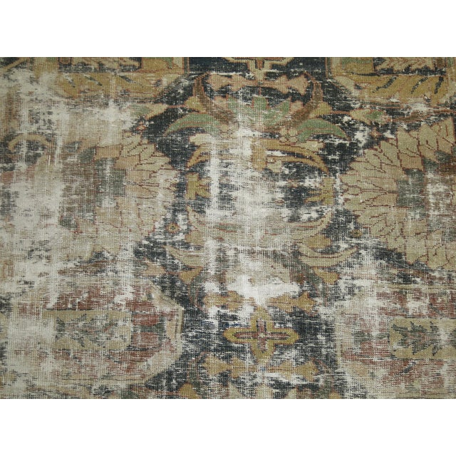 Distressed Persian Sultanabad Rug - 8'7'' x 11'9'' - Image 6 of 10