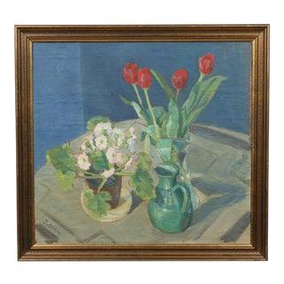 Tulip Still Life Painting