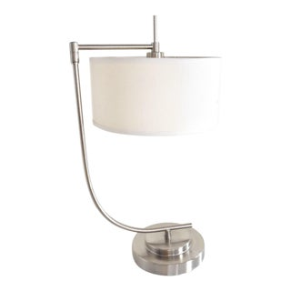 A Pair Of Swing Arm Table Lamps