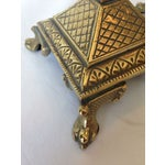 Image of Brass English Art Nouveau Candlesticks - Pair