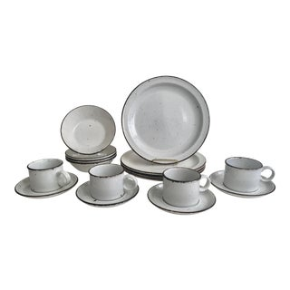 English Stonehenge Midwinter Dinnerware - Set of 4