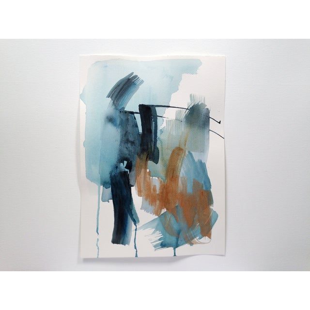 """Dani Schafer """"We Go Between V"""" Abstract Painting - Image 2 of 3"""