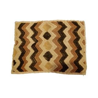 African Zaire Geometric Kuba Textile