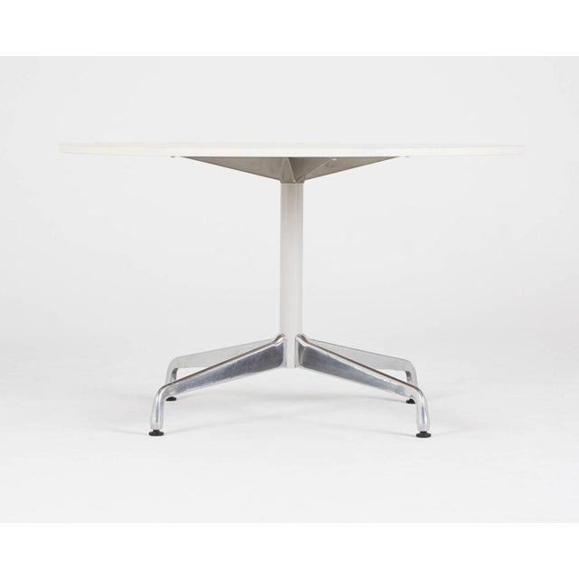Image of Eames Herman Miller Round Dining Table