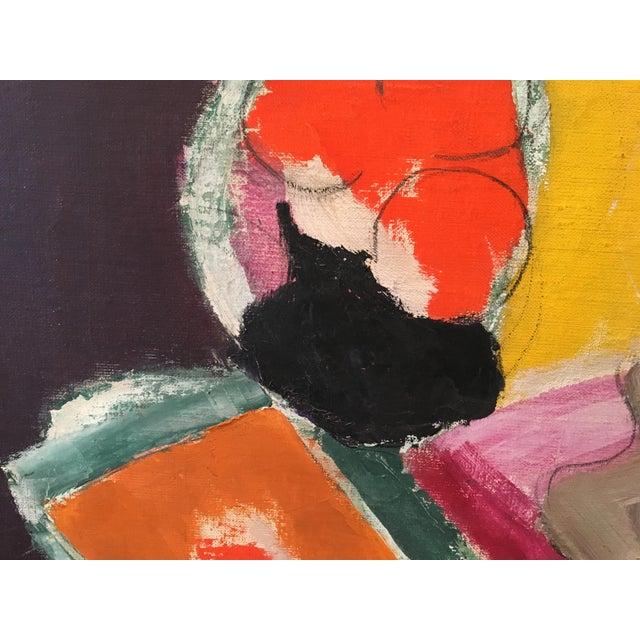 """Natura Moarta"" Abstract Still Life Painting - Image 2 of 10"