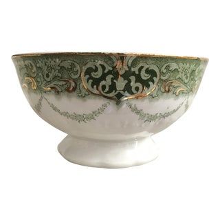 Antique Transferware Serving Bowl