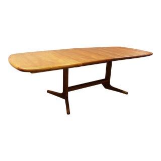 Niels Moller Danish Modern Teak Dining Table