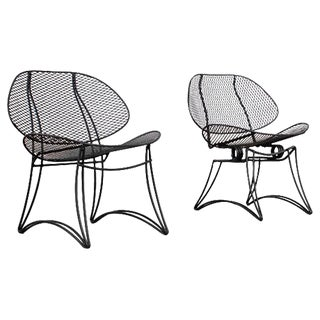 Restored Retro Salterini Patio Chairs
