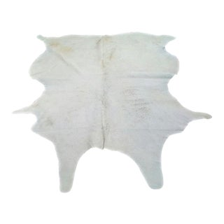 Classic Cowhide Natural White Rug - 7' x 8'