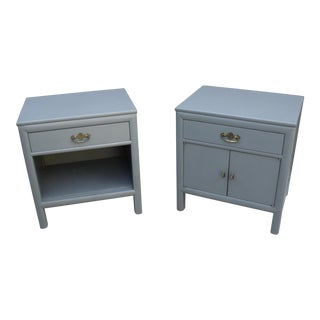 Vintage Chinosere Mid-Century Nightstands - A Pair