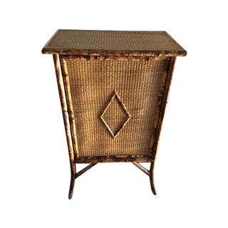 Vintage Bamboo Dresser