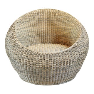 Outdoor Rattan Bubble Chair