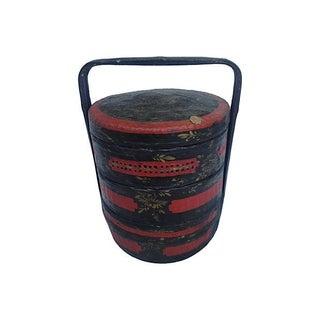Antique Chinese Wedding Basket