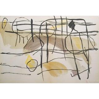 Pierre Tal Coat Age De Fer, II-1956 Lithograph