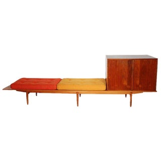 John Kapel Bench with Television Cabinet