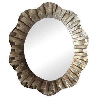 Gold Wooden Carved Mirror