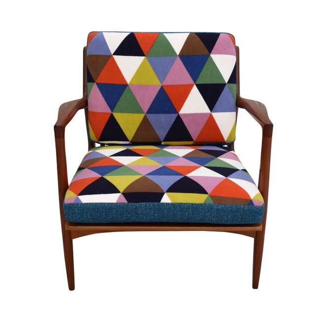 Vintage Danish Mid-Century Teak Lounge Chair - Image 2 of 10