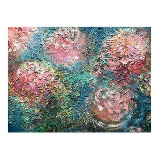 """""""Flower Dust"""" Textured Oil Painting"""