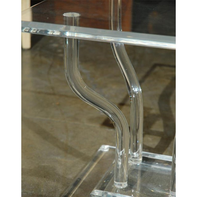 Lucite Occasional Table - Image 6 of 7